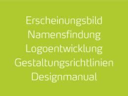 designatics – Profil, Erscheinungsbild, Namensfindung, Logoentwicklung, Gestaltungsrichtlinien, Designmanual