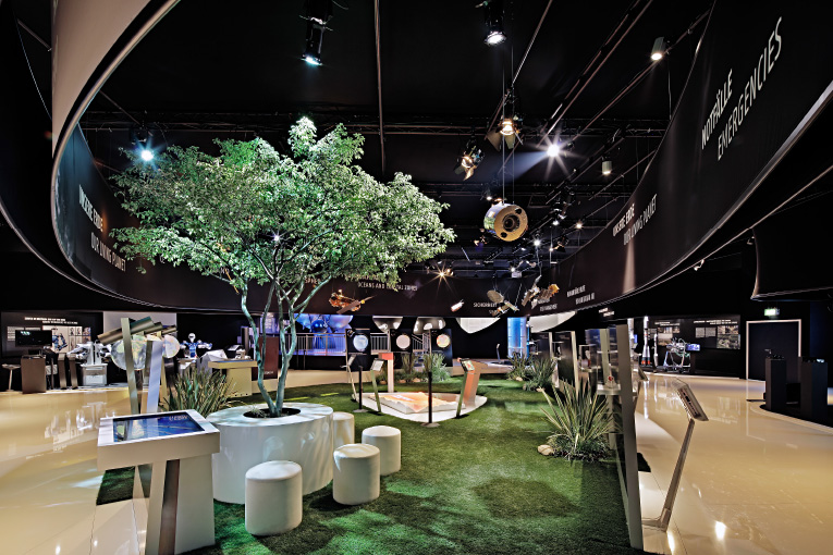 DLR – Space Pavillon