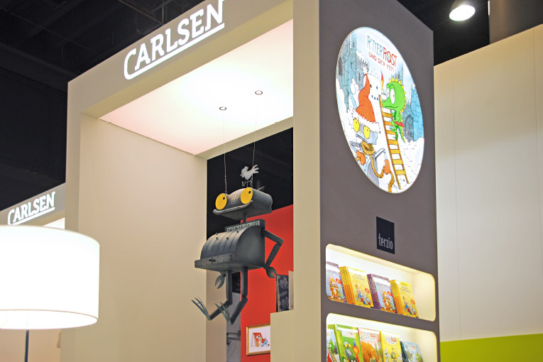 Carlsen Verlag – Modularchitektur