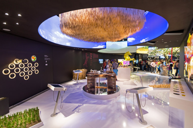Expo Mailand – Kasachstan Pavillon