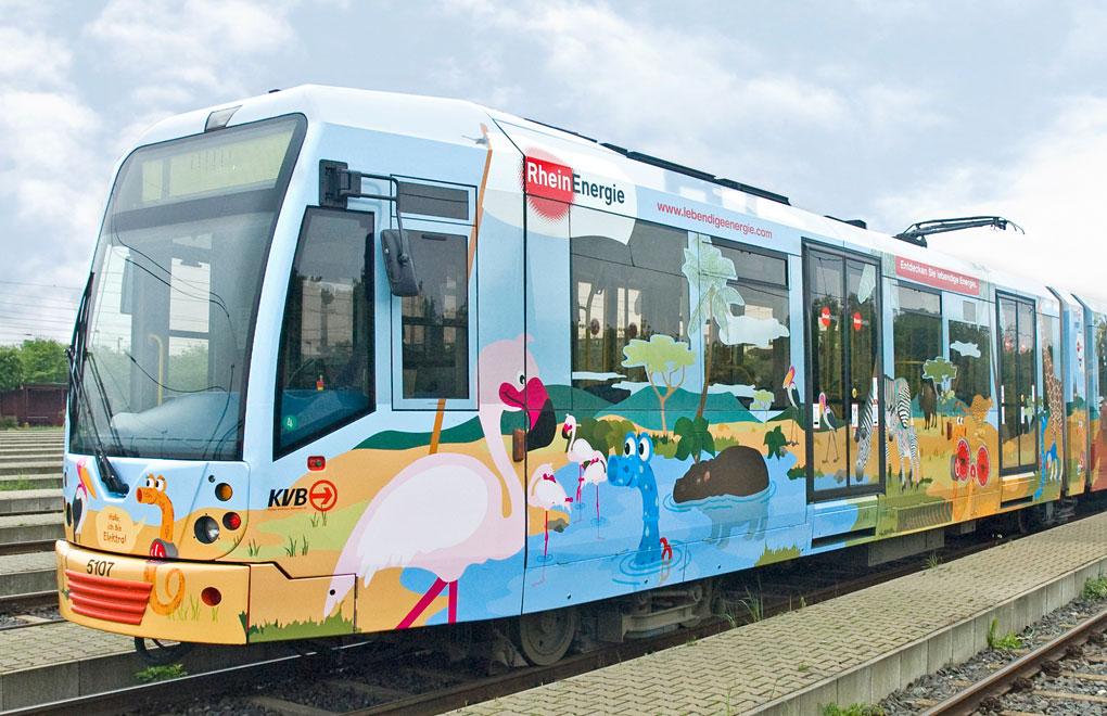 Kölner Zoo, Bahn