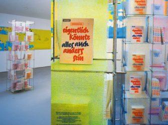 Kölnischer Kunstverein – Eigentlich könnte alles auch anders sein...