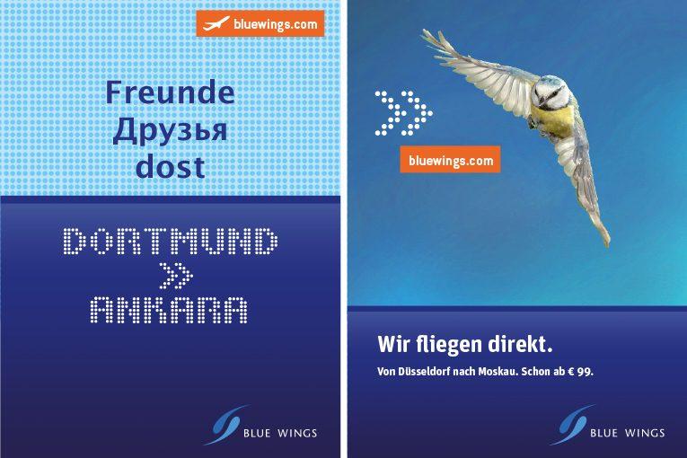 Ganz einfach fliegen – Blue Wings Fluggesellschaft