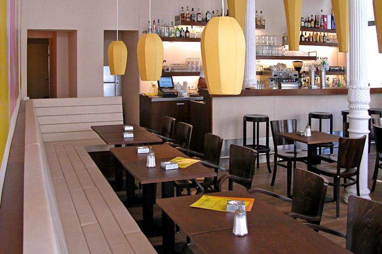 Ambiente – Cafébar Goldig