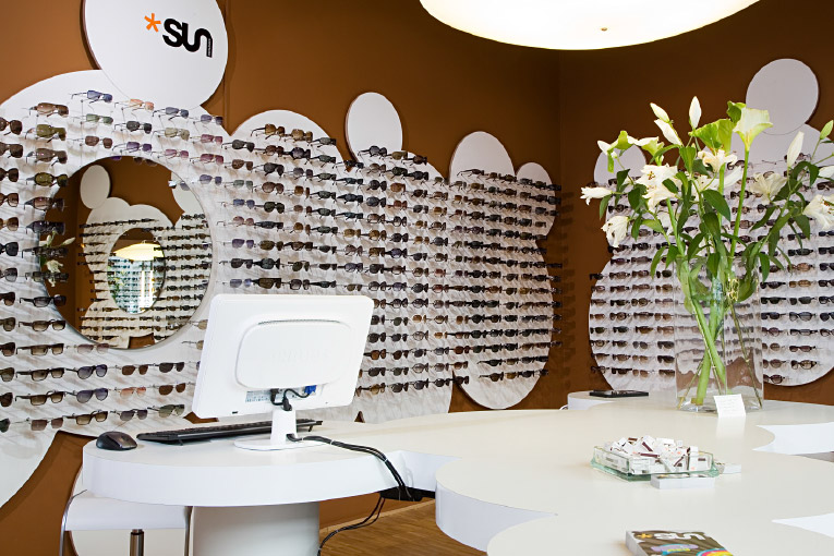 Sunshine – Showroom Sonnenbrillen