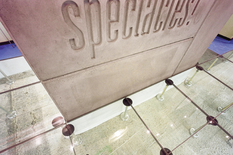 Face-lifting – spectacles! Showroom