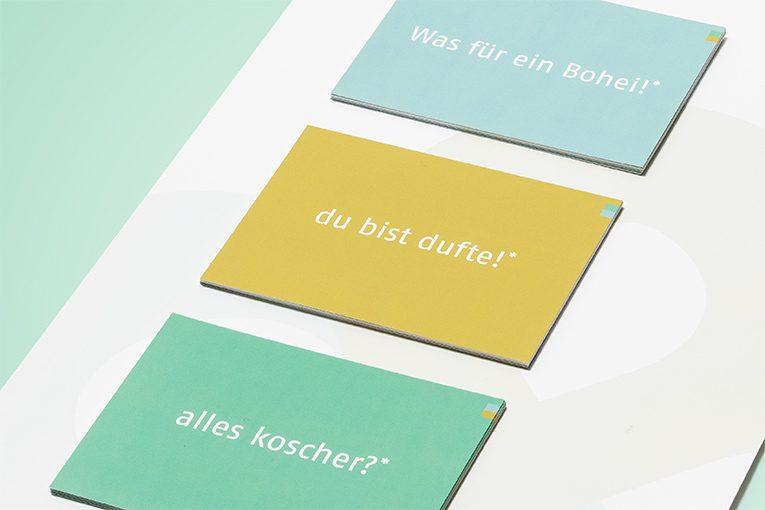 """designatics – Bücher bauen Brücken """"Jüdisches Leben hier und heute"""""""