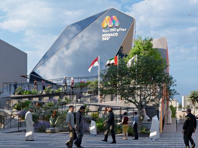 designatics / Expo Dubai – Pavillon Monaco